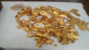 お仏壇洗濯--飾金具のメッキ--