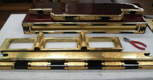 お仏壇の洗濯--飾り金具取り付け--