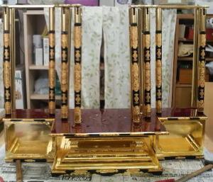 仏壇製作--荘厳--