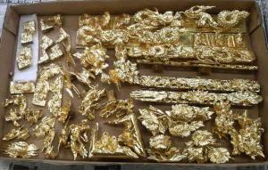 仏壇洗濯--金箔押し--