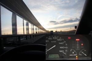 高速道路で撮影??