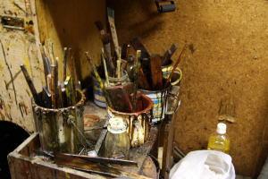 塗師の道具