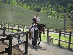 チロルの森--乗馬