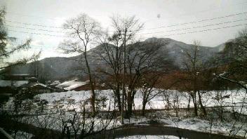 旅館の窓から・・・