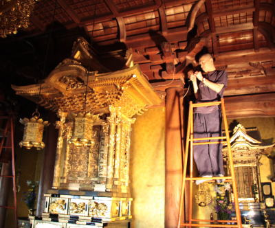 """御寺院用仏具製作--須弥檀--"""""""