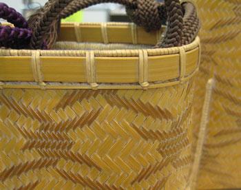 竹細工のバック