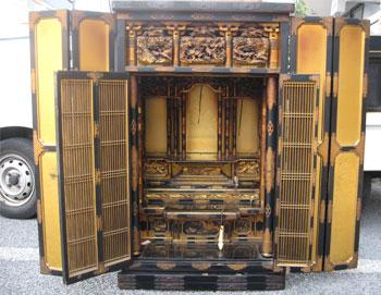 お仏壇の洗濯